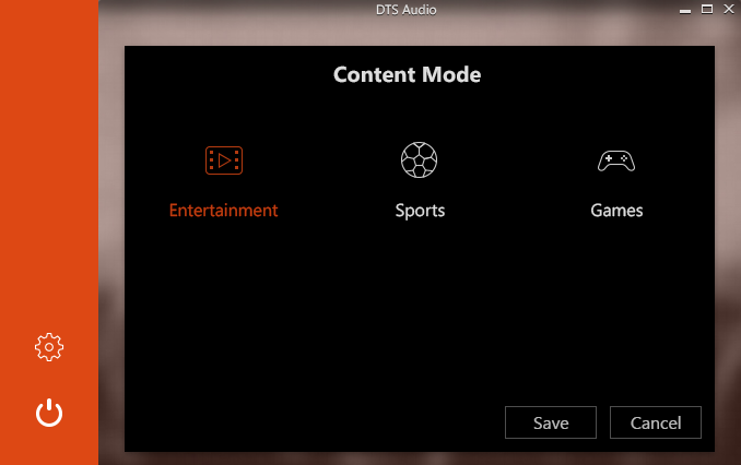 Content Mode Screen